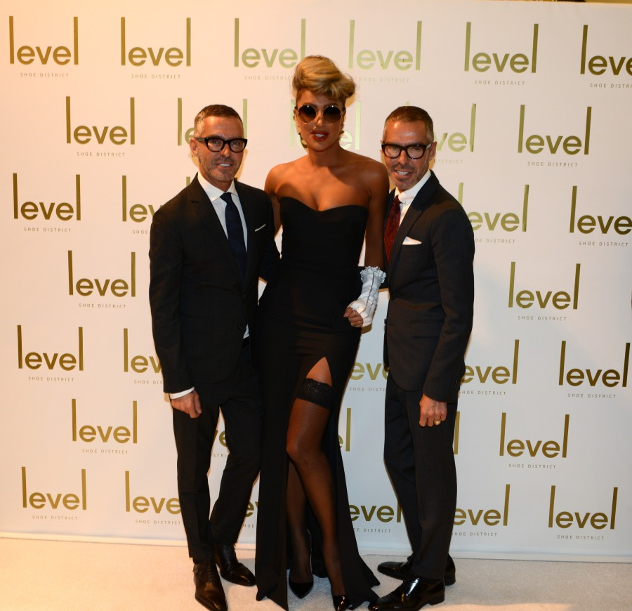 Maya Diab with Dean & Dan (DSquared) @ DVFE